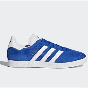 Adidas Gazelle in Blue Suede size 5
